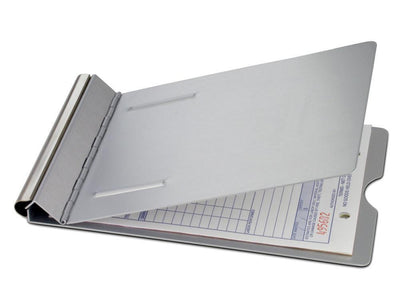 16505 Springback; Recycled Aluminium Form Holder Clipboard; Bottom Opening; A5 Saunders-Normal-Prospectors