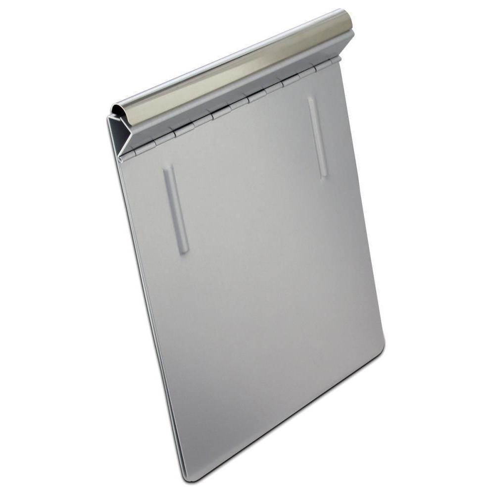 16505 Springback; Recycled Aluminium Form Holder Clipboard; Bottom Opening; A5 Saunders
