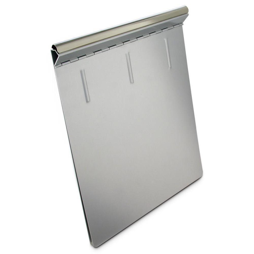 16507 Springback; Recycled Aluminium Form Holder Clipboard; Bottom Opening; A4 Saunders