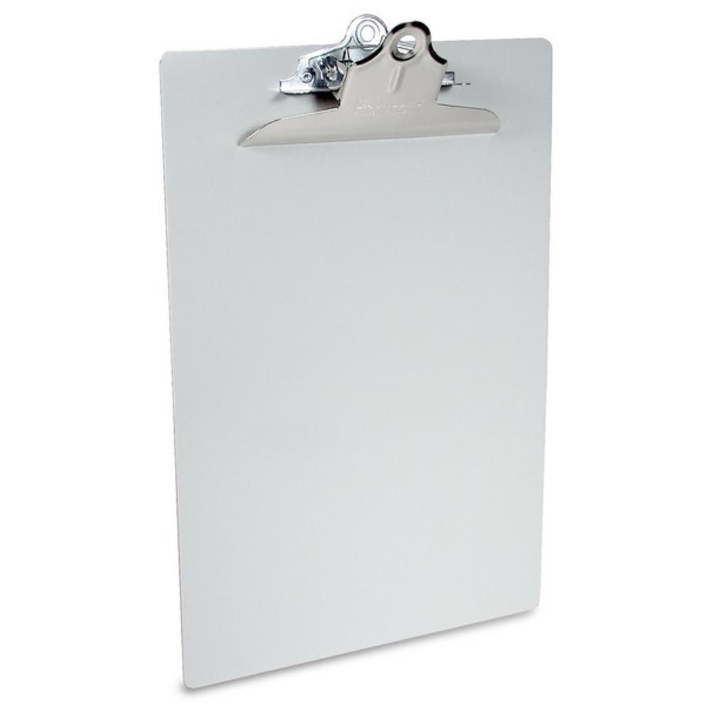 22517 Recycled Aluminium Form Holder Clipboard; High Capacity Clip; A4 Saunders-Normal-Prospectors