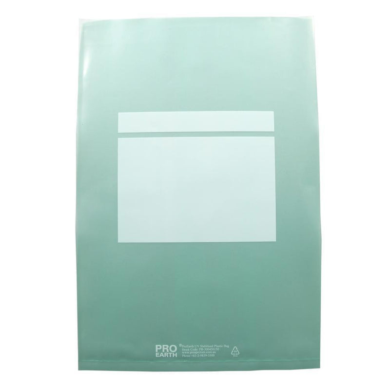 300 X 450mm X 150um 100 UV Stabilised Plastic Bags ProEarth - prospectors.com.au