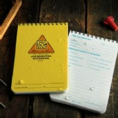 "Rite in the Rain 151, All Weather Job Briefing Notebook, 105mm x 152mm (4"" x 6"")"