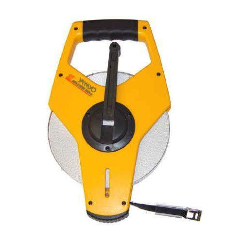 50 metre X 12.5mm Yamayo Million PVC Coated Fibreglass Measuring Tape with High Speed Winder in Ab - prospectors.com.au