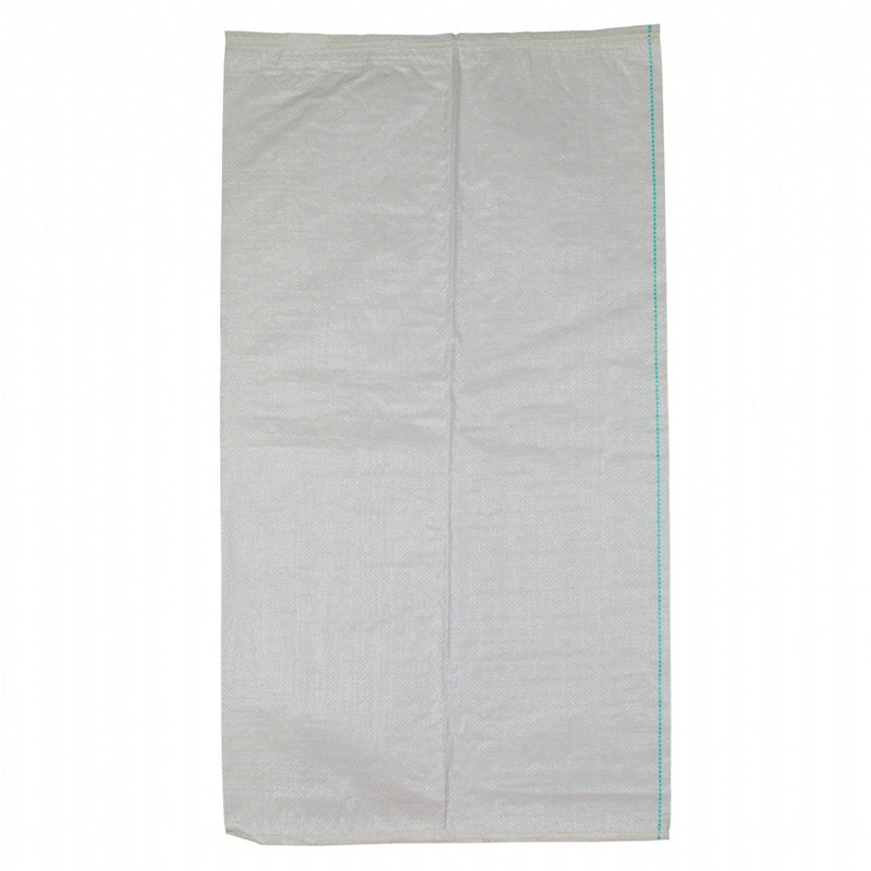 500 X 900mm White UV Stabilised Unlaminated Woven Polypropylene (Polywoven) Bag Sack - Pack of 10 ProEarth - prospectors.com.au