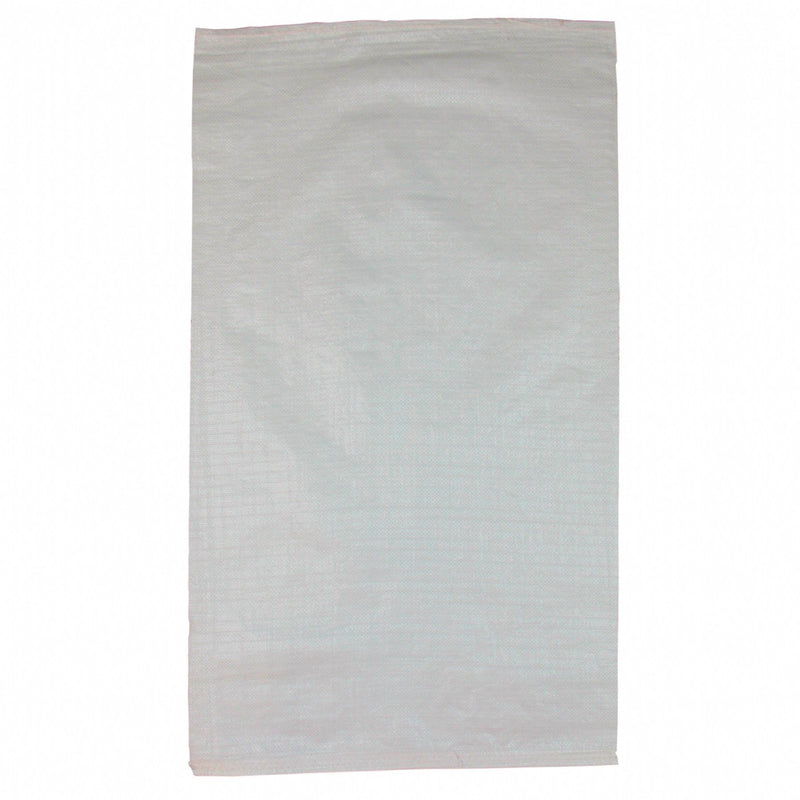 585 X 1,020mm White UV Stabilised Unlaminated Woven Polypropylene (Polywoven) Bag Sack - Pack of 10 ProEarth - prospectors.com.au