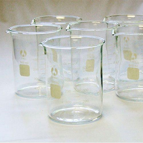 600ml Graduated Borosilicate Glass Beaker with Spout-Normal-Prospectors