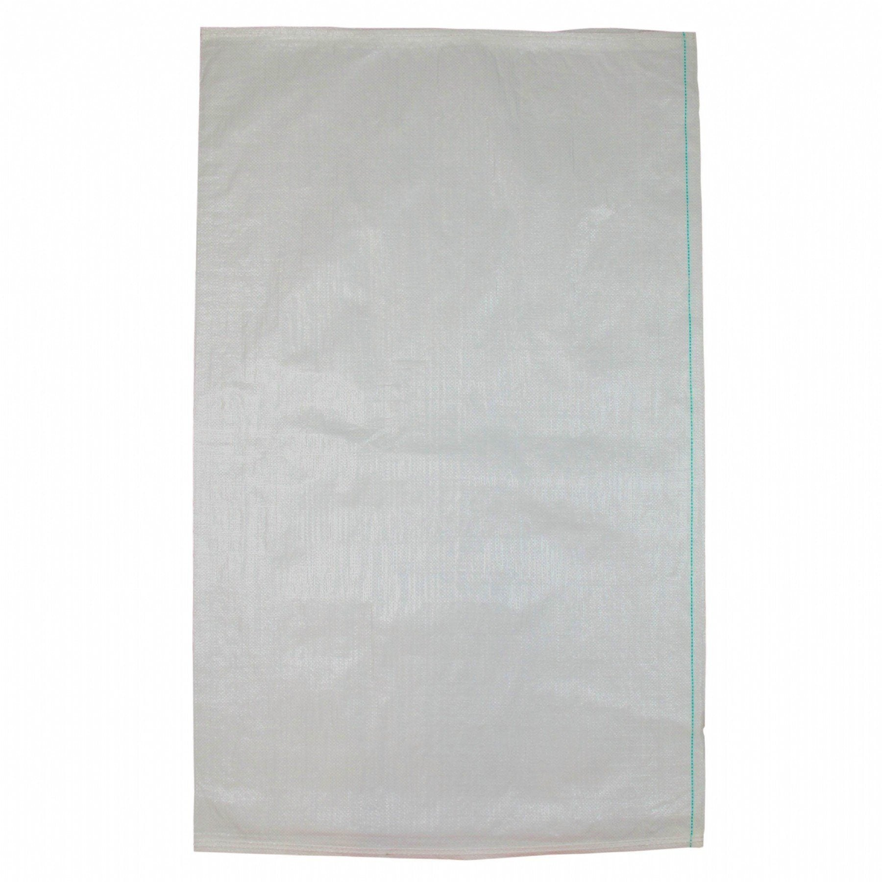760 X 1,200mm White UV Stabilised Unlaminated Woven Polypropylene (Polywoven) Bag Sack - Pack of 10 ProEarth-Normal-Prospectors