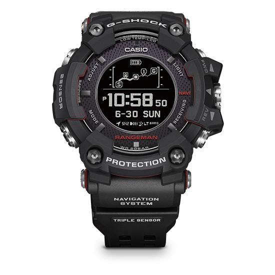G SHOCK Rangeman GPR-B1000-1 Navigation System by Casio