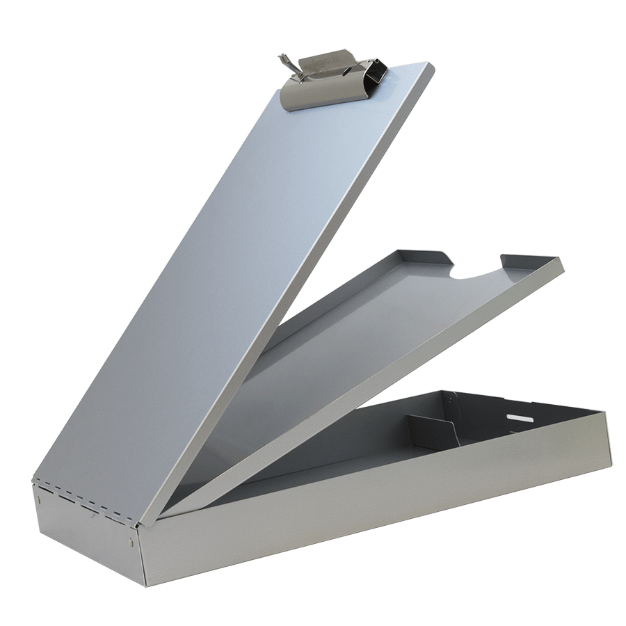 21017 Cruiser-Mate; Recycled Aluminium Form Holder Clipboard; Top Opening; A4 Saunders