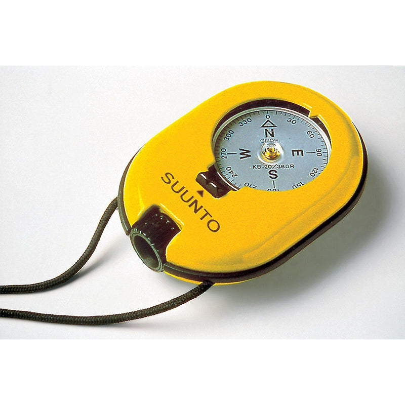 KB-20/360RY Global Optical Reading Compass Suunto - Yellow (Lensatic, floats in water)