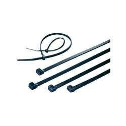 Cable Ties 300mm X 4.8mm; Pack of 100; Black; UV Stabilised-Normal-Prospectors