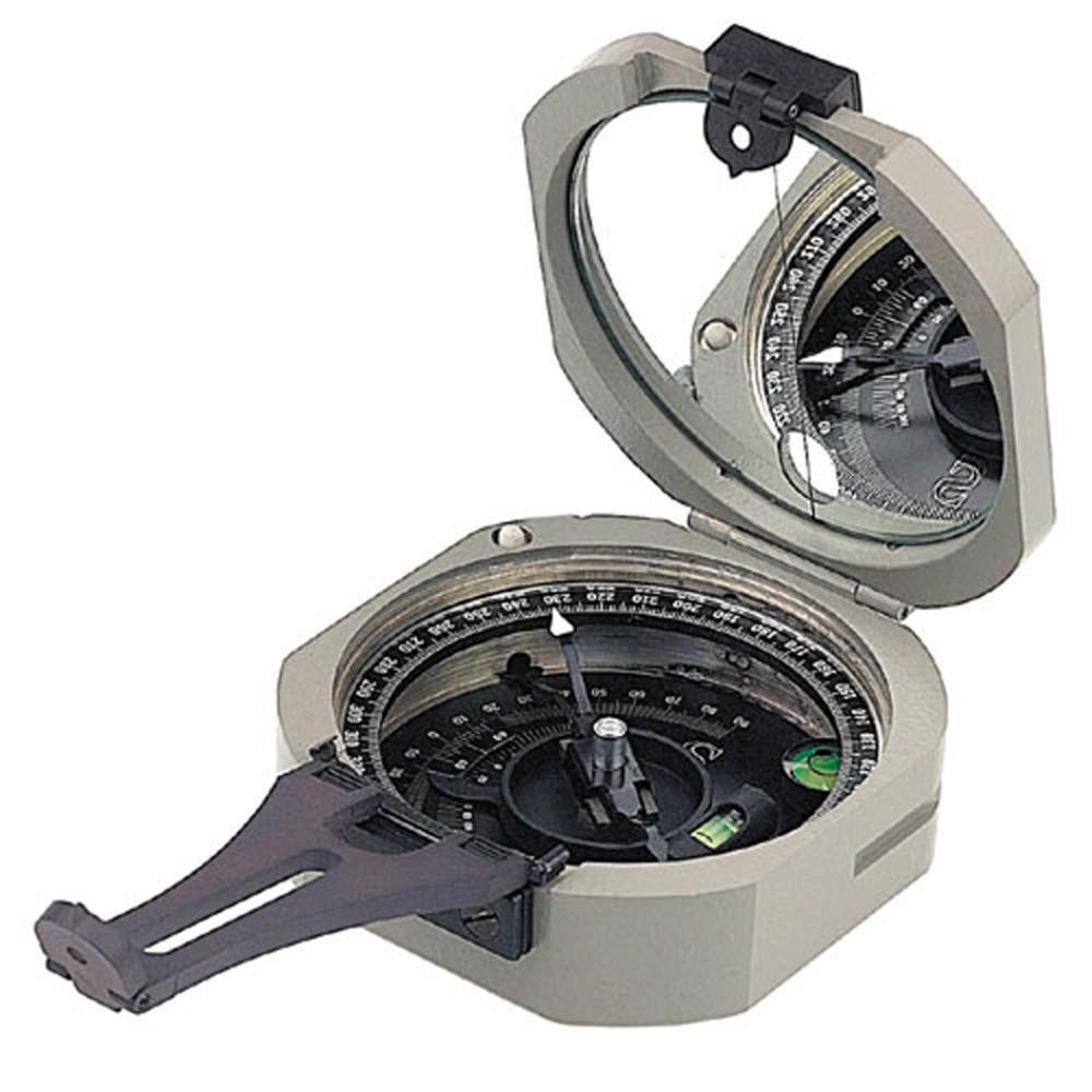 ComPro International Transit Compass Brunton Region A - 0-360 Degrees-Normal-Prospectors