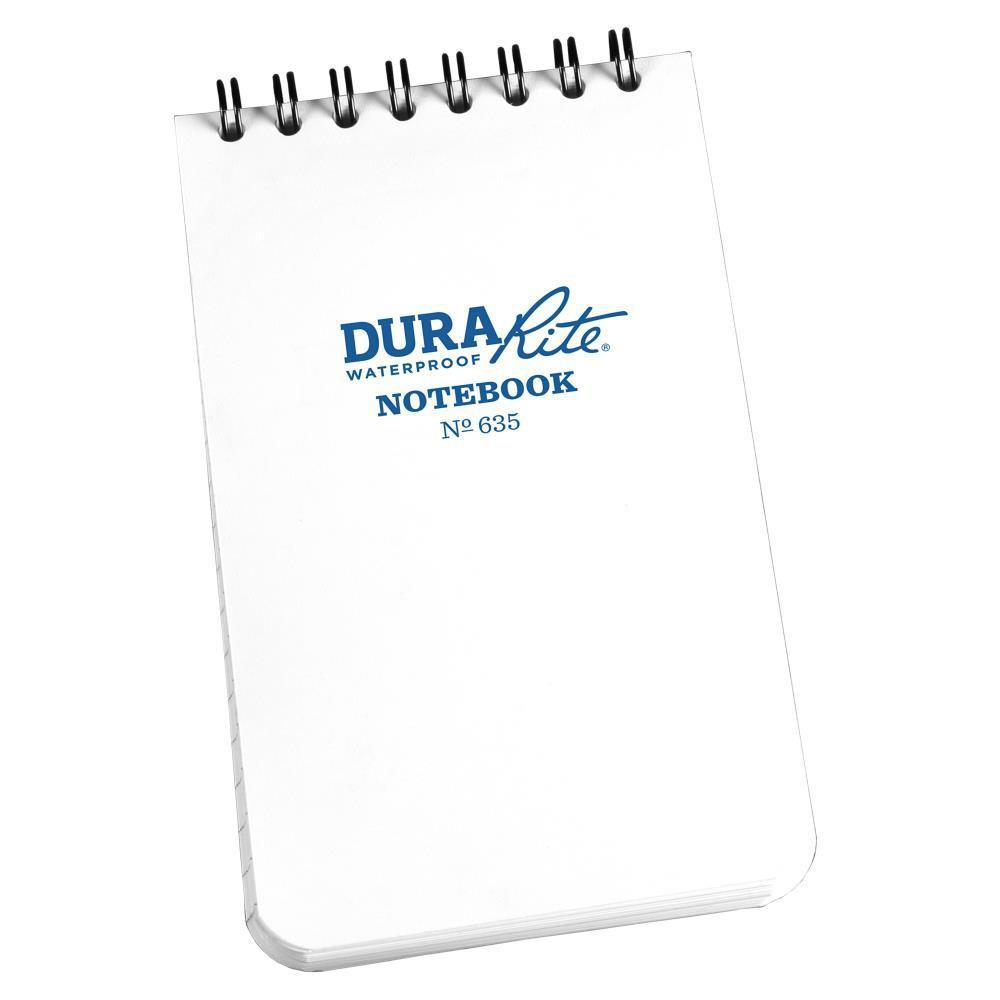 DuraRite 635, Waterproof Universal Polydura Notebook, 76mm x 127mm-Normal-Prospectors