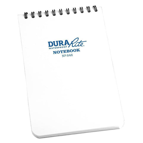 DuraRite 646, Waterproof Universal Polydura Notebook, 102mm x 152mm-Normal-Prospectors