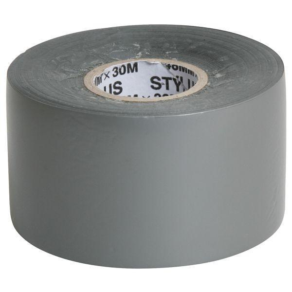 Dy-Mark Silver PVC Tape 48mm x 30m x 130um-Normal-Prospectors