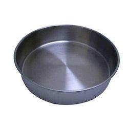 ESSA 200mm Diameter Stainless Steel Certified Test Sieve Receiver / Pan-Normal-Prospectors