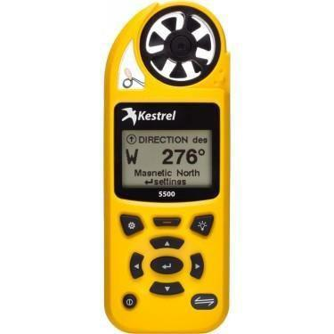 Kestrel 5500 Pocket Weather Meter - Yellow-Normal-Prospectors