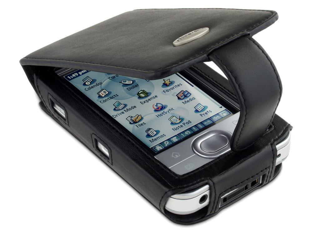 Palm Lifedrive Leather Flip Case Black