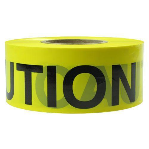 Presco Reflective Caution Yellow Barricade Tape 75mm Wide, 304m Long-Normal-Prospectors