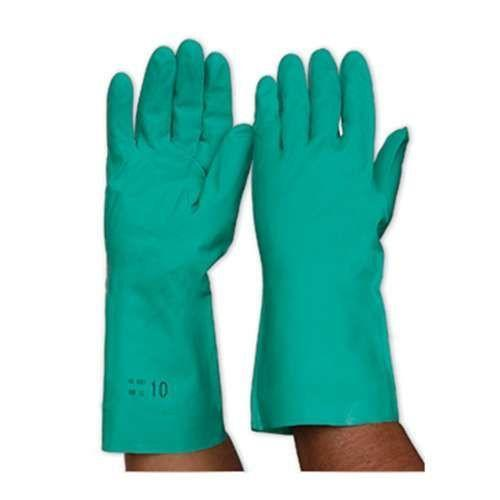 ProChoice Green Nitrile Gloves Length 33cm-Normal-Prospectors
