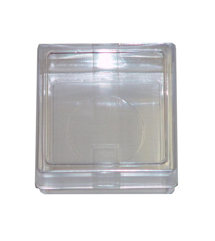 ProEarth Plastic Display Box 53 X 53 X 30mm-Normal-Prospectors