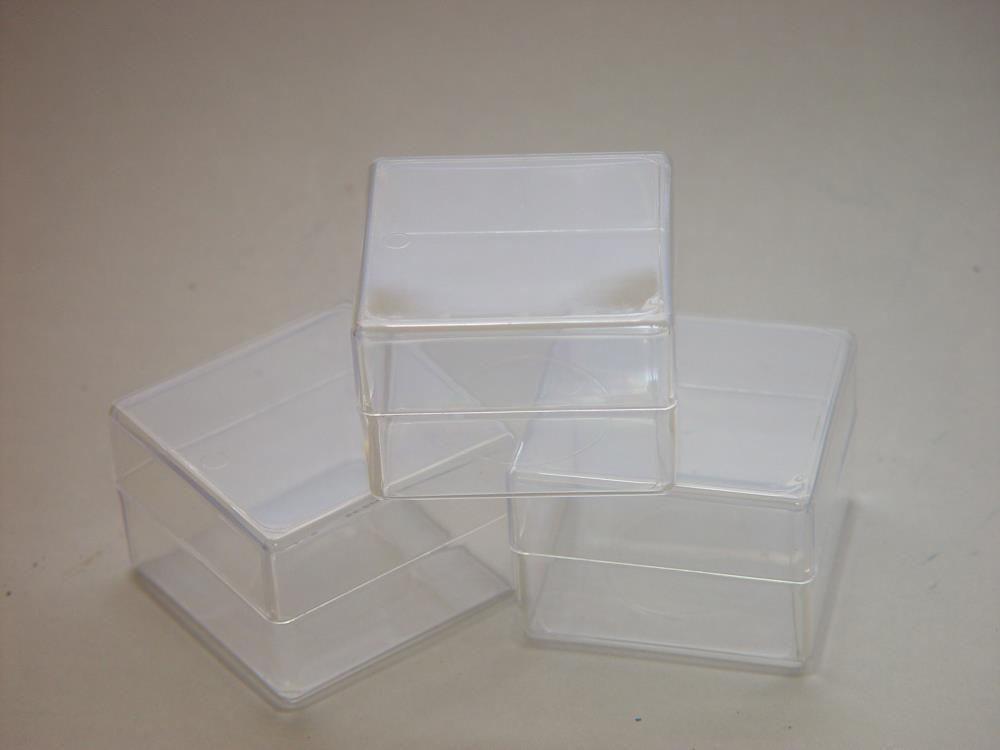 ProEarth Plastic Display Box 65 X 65 X 45mm-Normal-Prospectors