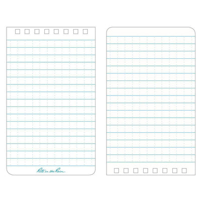 Rite in the Rain 135, All Weather Universal Polydura Notebook, 76x127mm-Normal-Prospectors