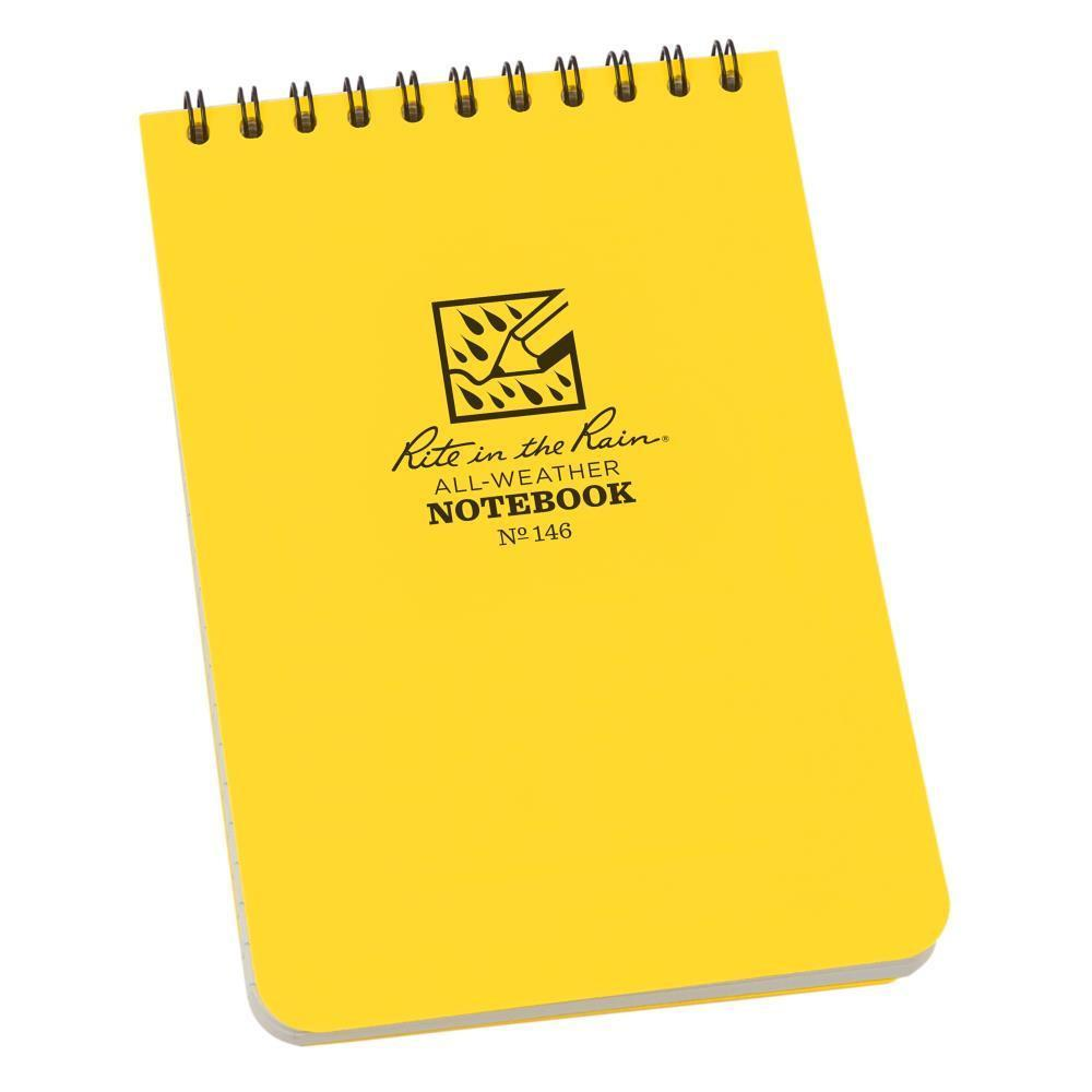 Rite in the Rain 146, All Weather Universal Polydura Notebook, 105mm x 152mm-Normal-Prospectors