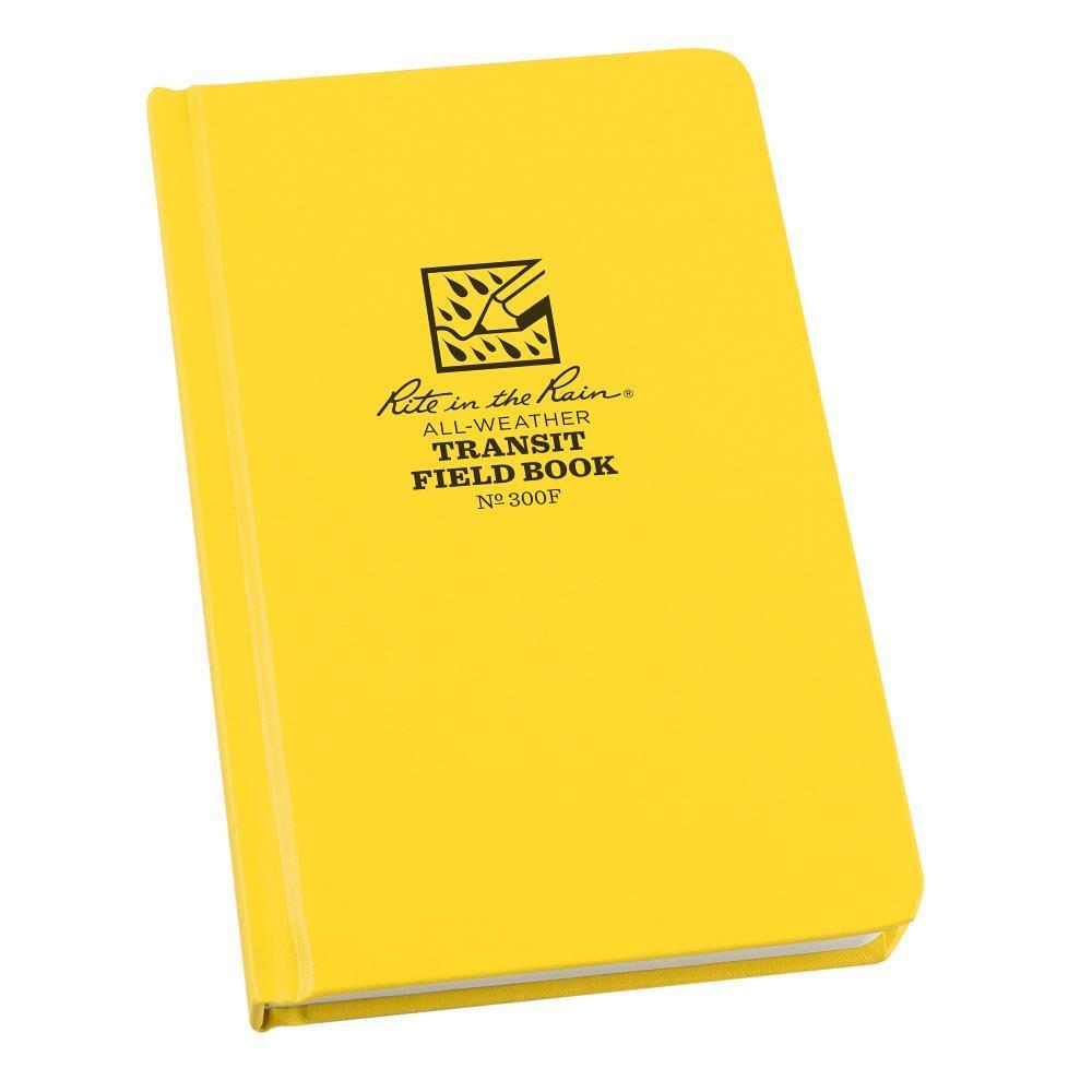 Rite in the Rain 300F, All Weather Transit Fabrikoid Field Book, 120mm x 190mm-Normal-Prospectors
