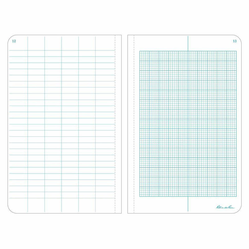 Rite in the Rain 360F, All Weather Metric Field Fabrikoid Field Book, 120mm x 190mm-Normal-Prospectors