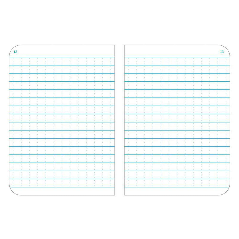 Rite in the Rain 371FX-M, All Weather Universal Rite in the Rain Field flex Notebook, 82mm x 117mm, pack of 3 books-Normal-Prospectors