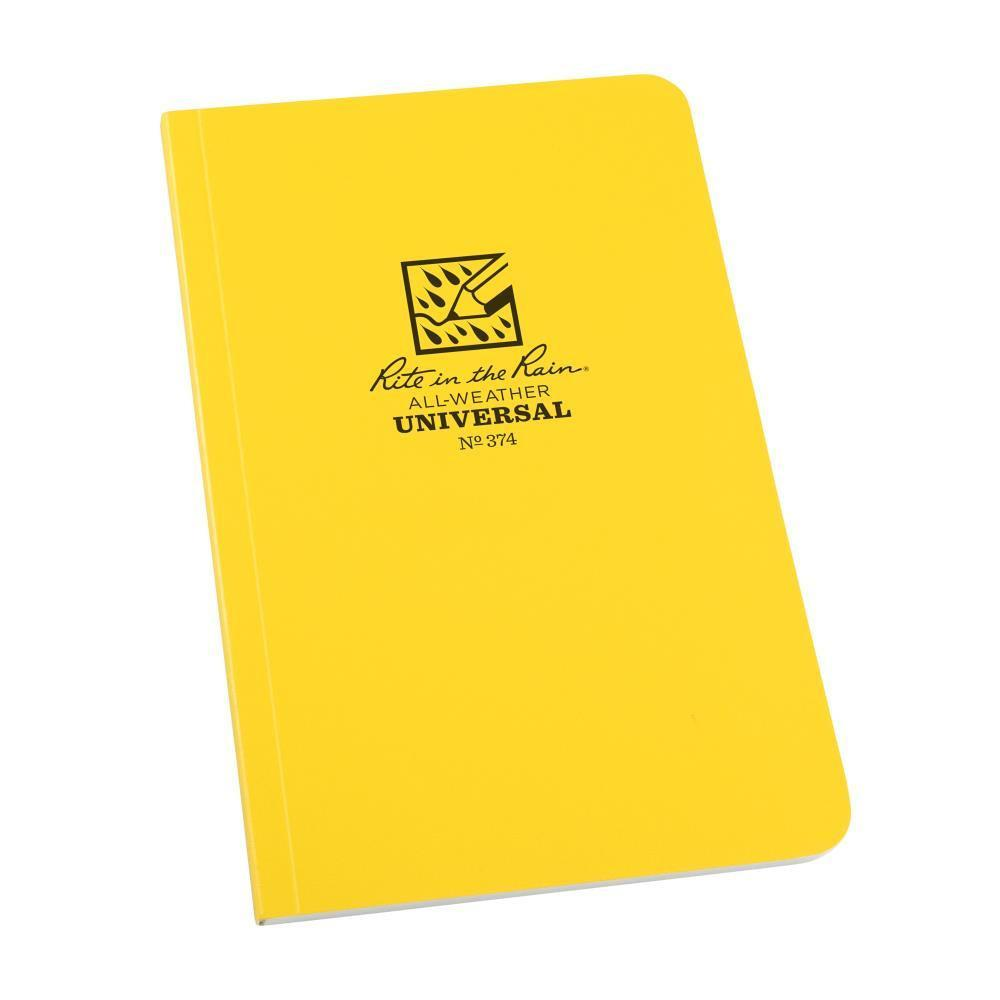 Rite in the Rain 374, All Weather Universal Field-Flex Field Book, 117mm x 184mm-Normal-Prospectors