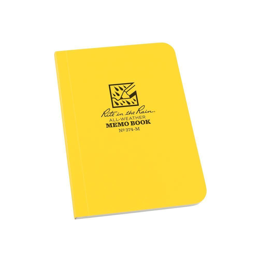Rite in the Rain 374-M, All Weather Universal Field-Flex Memo Book, 89mm x 127mm-Normal-Prospectors