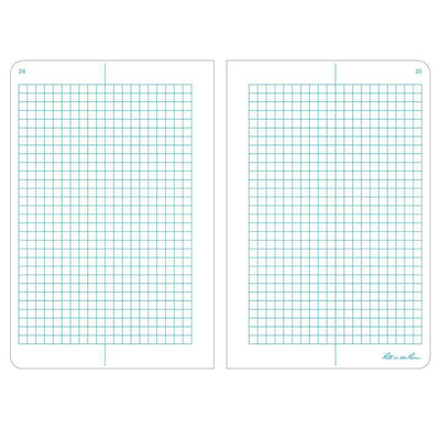 Rite in the Rain 381FX, All Weather Metric Grid Rite in the Rain Field Flex Notebook, 117mm x 177mm, pack of 3 Books-Normal-Prospectors