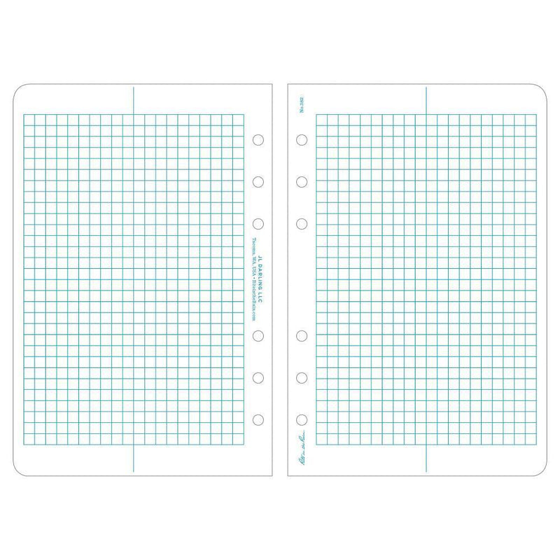 Rite in the Rain 382, All Weather Metric Grid Loose Leaf Sheets, 117mm X 178mm-Normal-Prospectors