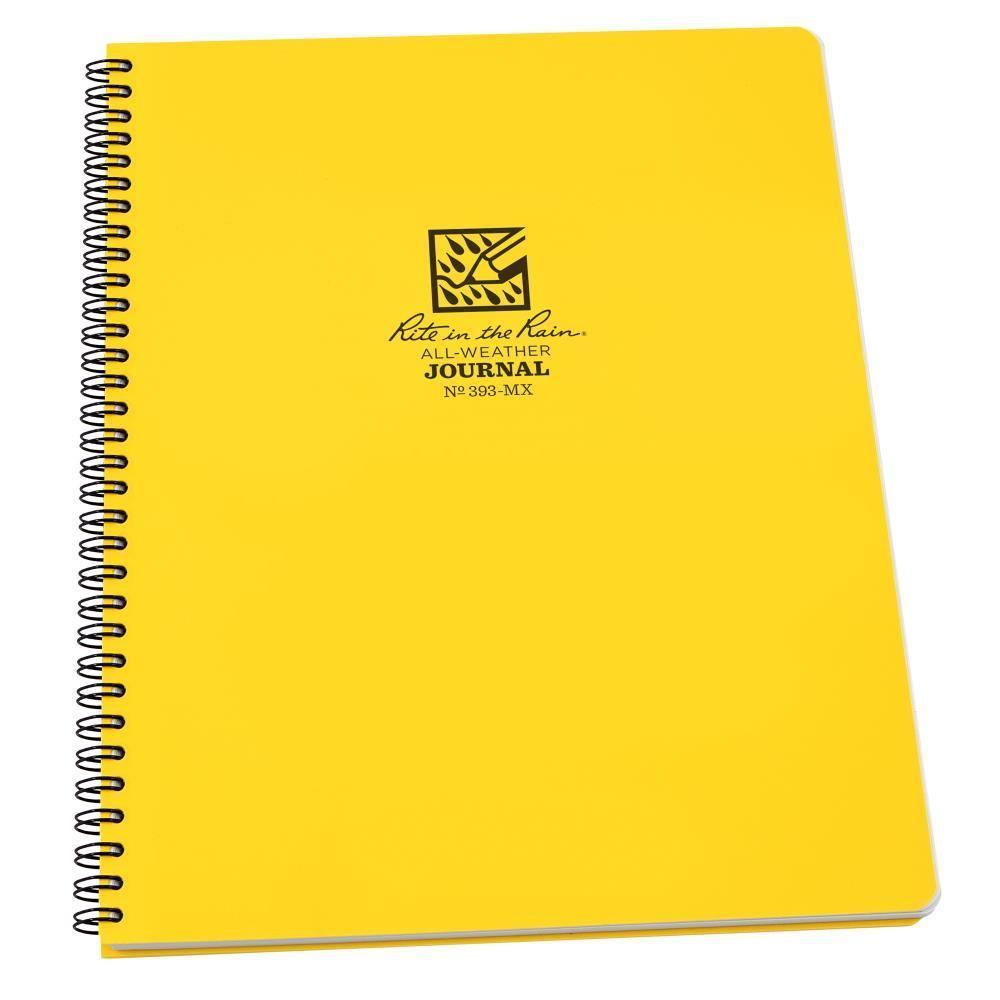Rite in the Rain 393MX, All Weather Journal Polydura Maxi Book, 216mm x 279mm-Normal-Prospectors