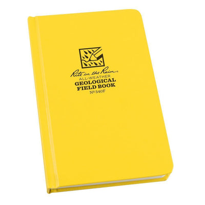 Rite in the Rain 540F, All Weather Geological Fabrikoid Field Book, 120mm x 190mm-Normal-Prospectors