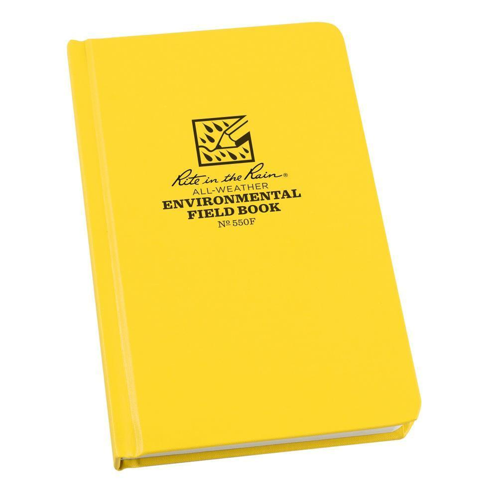 Rite in the Rain 550F, All Weather Environmental Fabrikoid Field Book, 120mm x 190mm-Normal-Prospectors