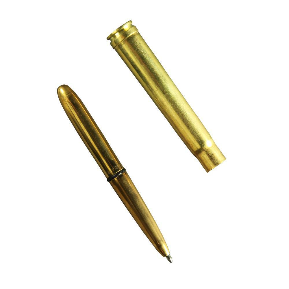 Rite in the Rain 86, Black Ink .375 MAG Brass Bullet All Weather Pen-Normal-Prospectors