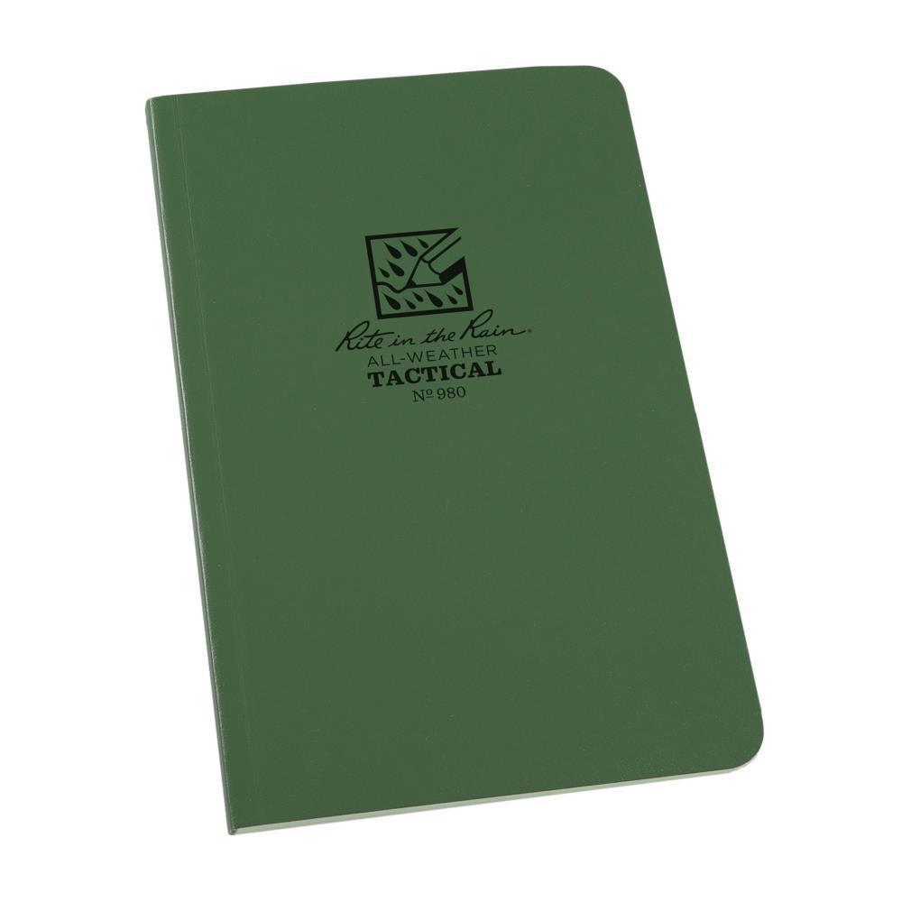 Rite in the Rain 980, All Weather Green Universal Field-Flex Field Book, 117mm x 184mm-Normal-Prospectors