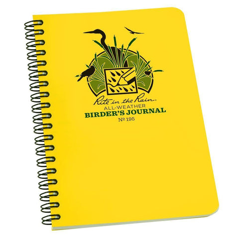 Rite in the Rain All Weather 195 Birders Field Journal Notebook 117 x 177mm-Normal-Prospectors