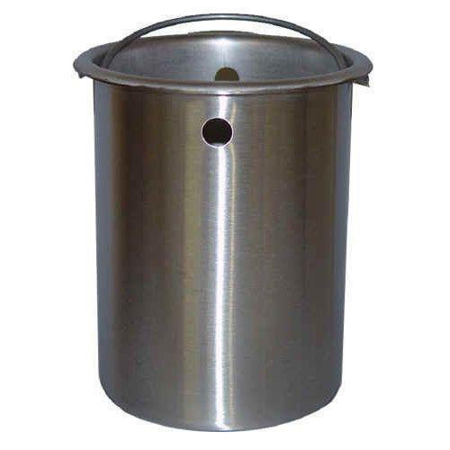 Stainless Steel Bucket for Pulp Density Scale-Normal-Prospectors