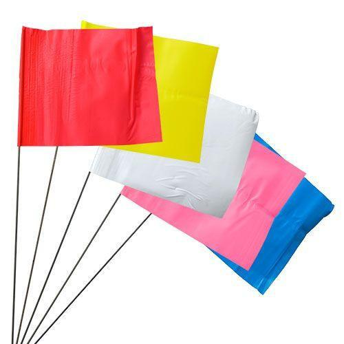 Stake Flags on Wire Presco - 100 Flags