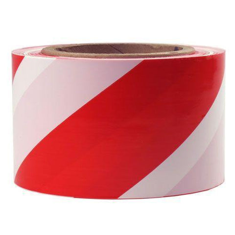 Stripe 75mm Wide Presco Barricade Tape ; 91m Long-Normal-Prospectors
