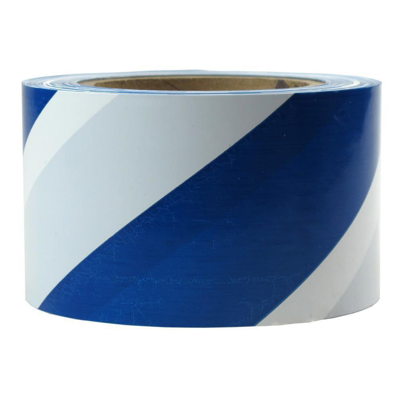 Stripe 75mm Wide Presco Barricade Tape ; 91m Long