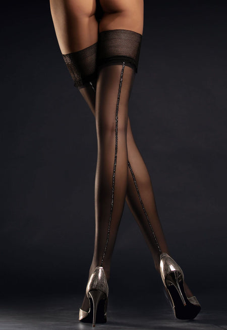Antonella Polka Dot Patterned Opaque Tights by Veneziana