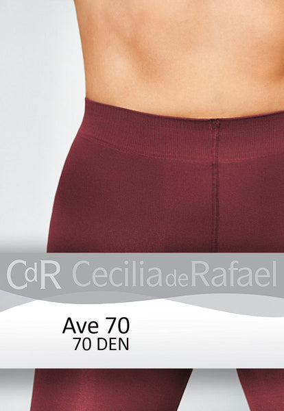 Cecilia de Rafael Ave 70 Denier Matte Opaque Tights waistband