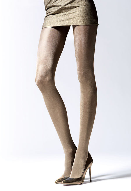 Justine Leopard Animal Print Tights by Veneziana
