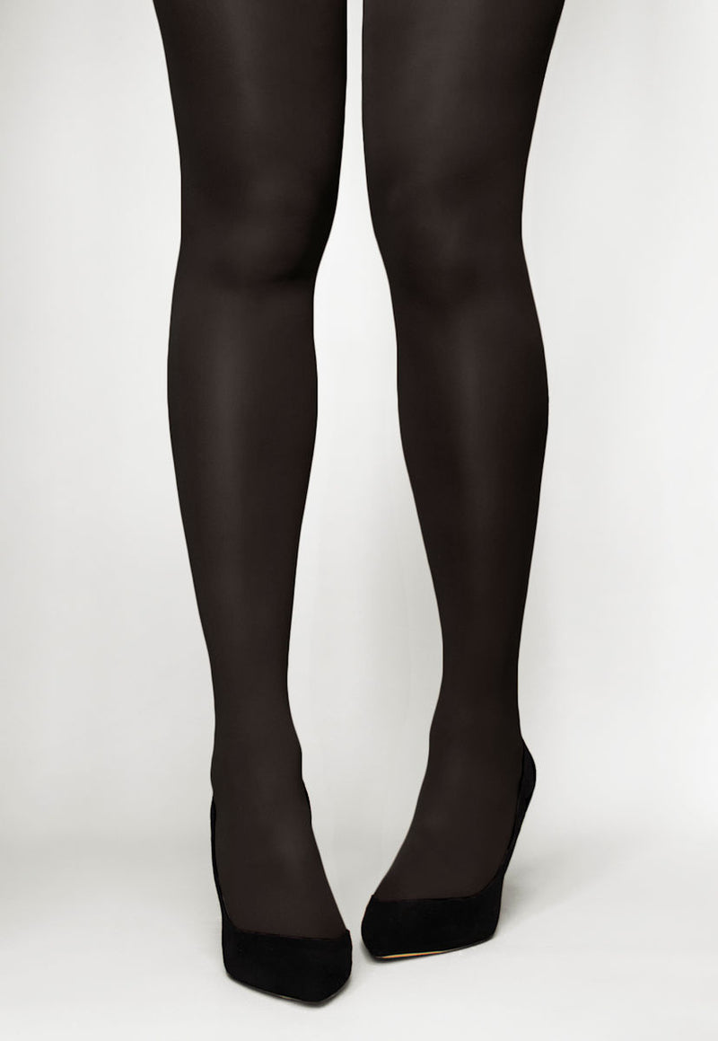 Concorde 60 Denier Coloured Opaque Tights in Mocca brown