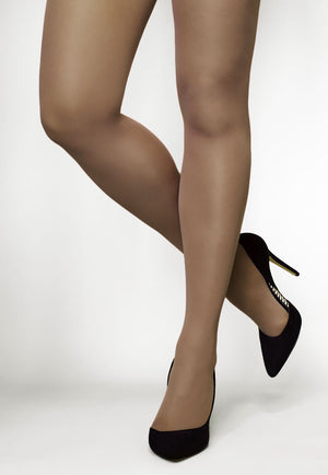 Concorde 60 Denier Coloured Opaque Tights in Daino dark tan nude